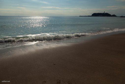 湘南の海と江の島