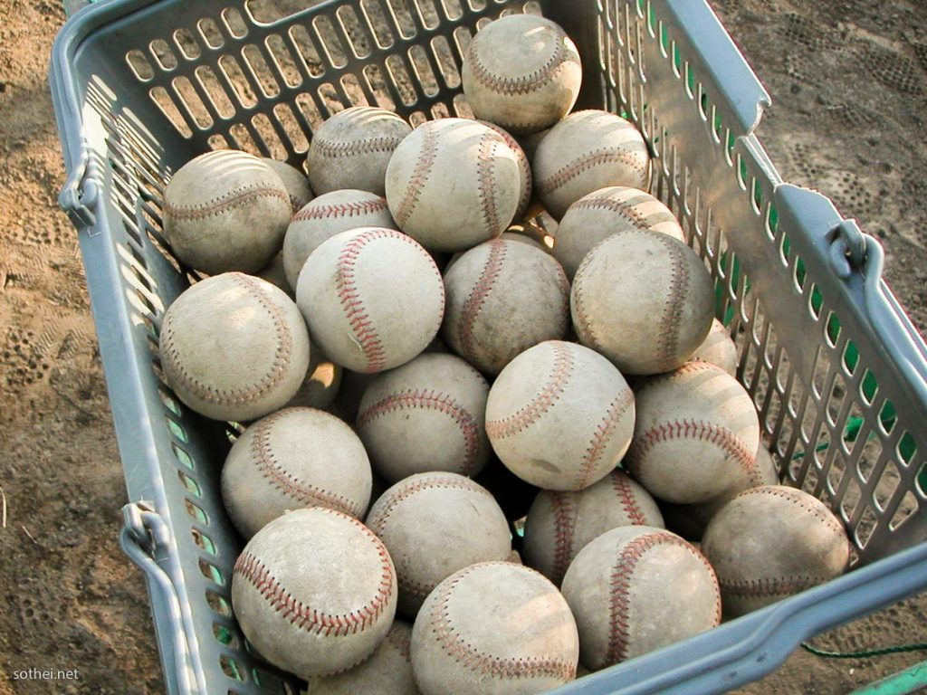 野球の硬式ボール
