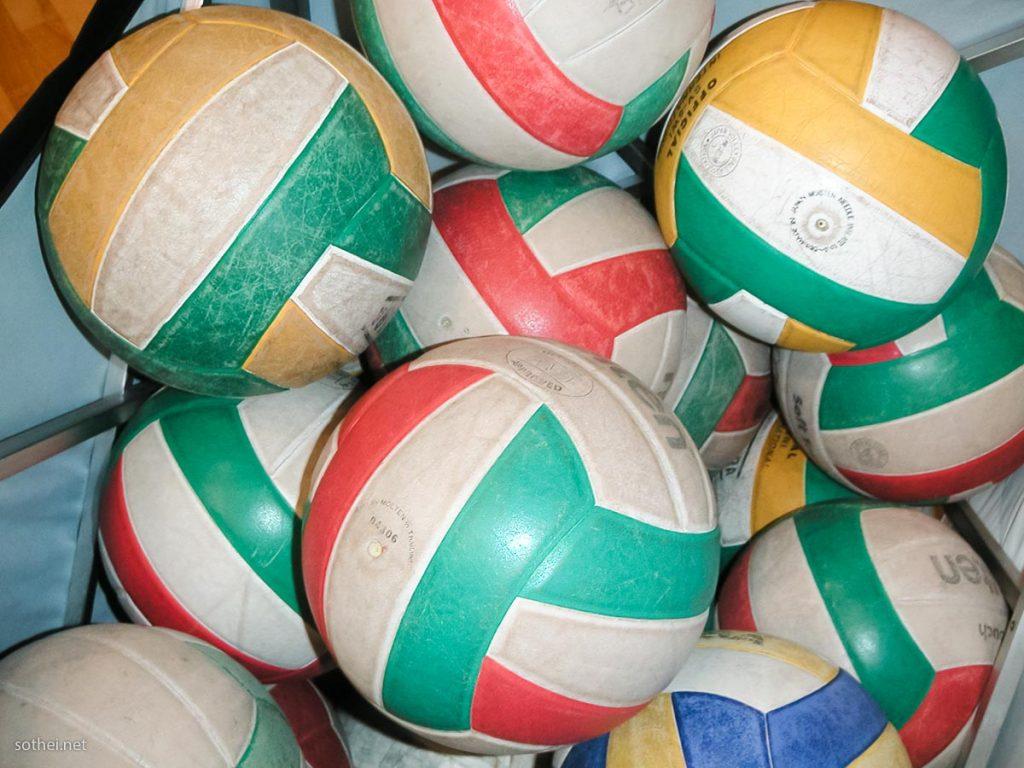 バレーボールのボール