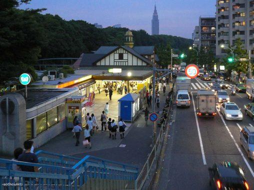 原宿駅の旧駅舎