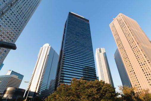 新宿副都心の高層ビル