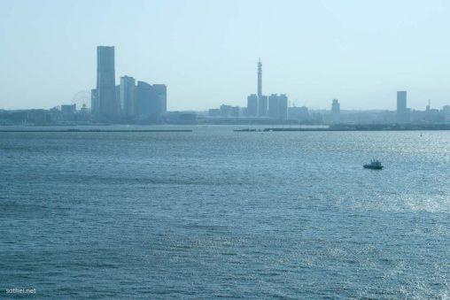 横浜港と横浜みなとみらい