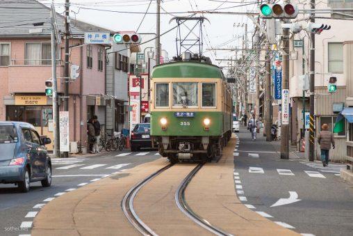 路面電車 江ノ電