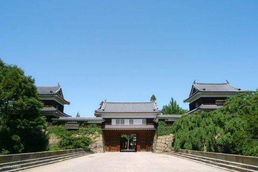 上田城大手門